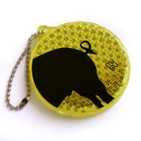Reflector with chain - pig