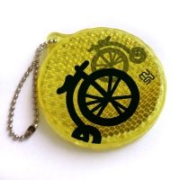Reflector with chain - mini-bicycle