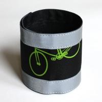 Nadrágpánt - bicikli, zöld