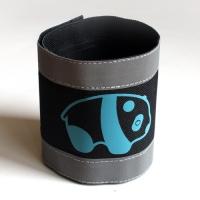 Nadrágpánt - panda, kék