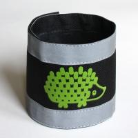 Nadrágpánt - süni, zöld