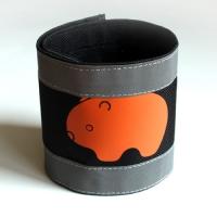 Nadrágpánt - wombat, narancs