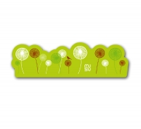 Frame sticker - 15cm - spoke dandelion