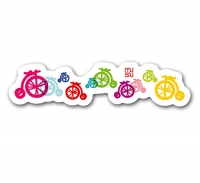 Frame sticker - 15cm - mini bicycle